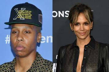 "Halle Berry Kisses Lena Waithe On ""Jimmy Kimmel Live!"""