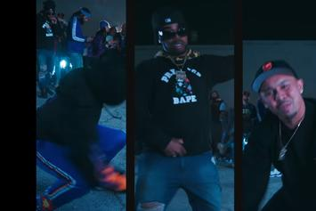 "Kool John Grabs P-Lo, Nef The Pharaoh & Larry June For ""Run The Bag Up"""