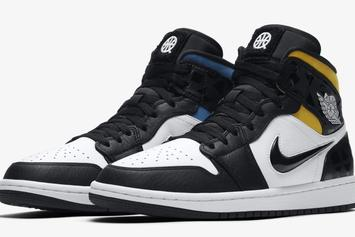 "Air Jordan 1 Mid ""Quai 54"" Model Revealed: First Look"