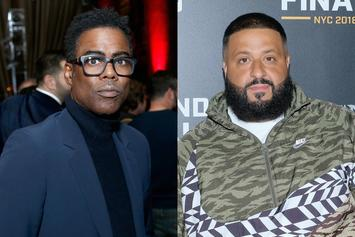 "Chris Rock Clowns DJ Khaled For Yelling On Tracks: ""He The Best"""