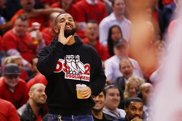 Drake Flies To The Bahamas On New Luxury Private Jet Following Raptors Win