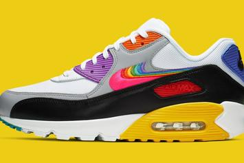 "Nike Air Max 90 ""Be True"" To Drop This Saturday: Official Photos"