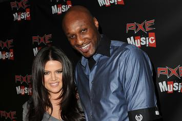 "Lamar Odom Thanks Khloe Kardashian ""For Being There"" During His Dark Times"