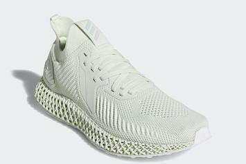 "Adidas Alphaedge 4D ""Aero Green"" Dropping Next Week: Official Detials"