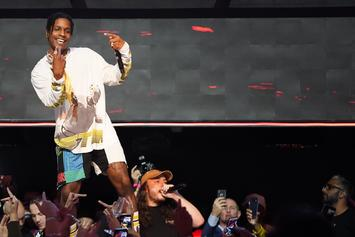 ASAP Rocky Steals The Gucci Show With His Stuffed Animal Inspired Pants