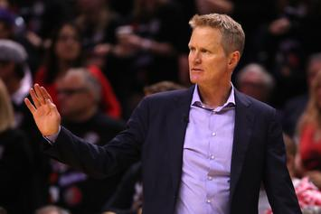 Steve Kerr Doubles Down On Call For Gun Control Following Virginia Beach Shooting