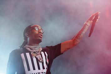 "Quavo Drops $11,000 During ""Sneaker Shopping"" At A Ma Maniere"