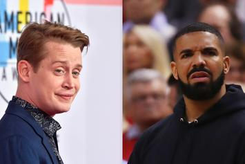 "Macaulay Culkin Trolls Drake Over ""Home Alone"" Hoodie"