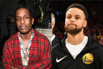 A$AP Rocky Wants To Become Steph Curry's Personal Stylist