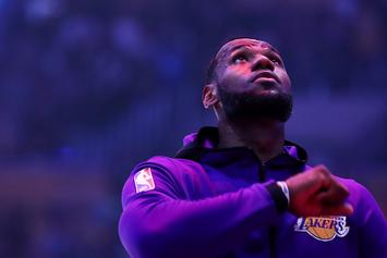 "LeBron James Offers ""King Service Announcement"" About Social Media"