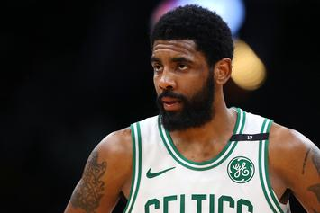 Kyrie Irving Channels The Illuminati During Return To Instagram