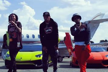 "Curren$y,  Trademark Da Skydiver, & Young Roddy Drop ""Plan Of Attack"" Visual"