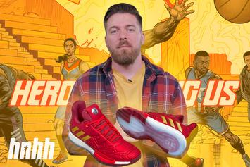 "Sneaker Review: Marvel x Adidas Basketball ""Heroes Among Us"" Pack"