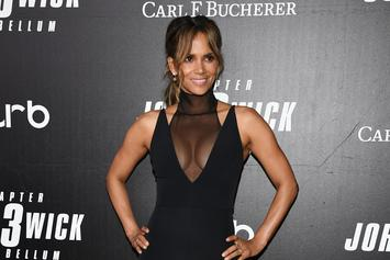 Halle Berry Responds To Kanye West, Nas Lyrics While Eating Hot Wings