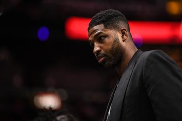 "Tristan Thompson's OG Baby Mama Says Cheating Scandal ""Forced [Her] Into Bed Rest"""