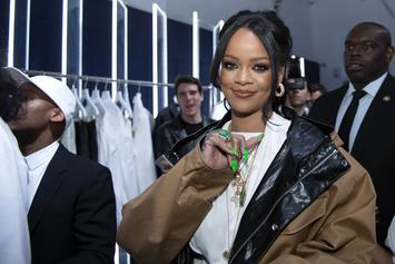 Rihanna Cuddles Up To Boyfriend Hassan Jameel On Italian Yacht With His Family