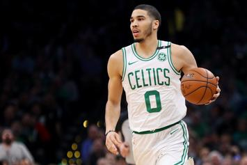 Celtics Fans Rip Jayson Tatum For Celebrating The Blues Stanley Cup
