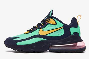 "Nike Air Max 270 React ""Electro Green"" Coming Soon, Detailed Photos"