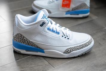 Air Jordan 3 UNC Colorway Rumored To Drop Next Year