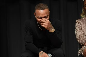 Bow Wow Gets His Car Windows Smashed By A Girl While At Work