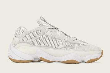 "Adidas Yeezy 500 ""Bone White"" Releasing In Sizes For The Whole Fam"