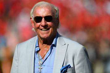 Ric Flair Spotted Drinking Beer Just One Month After Heart Surgery