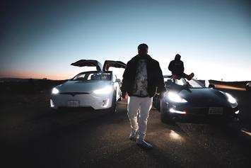 "King Louie Breaks Out The ""Tesla"" For Latest Music Video"