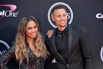 "Ayesha Curry Admits To Sending ""Hundreds"" Of Sexy Pics To Steph Curry"