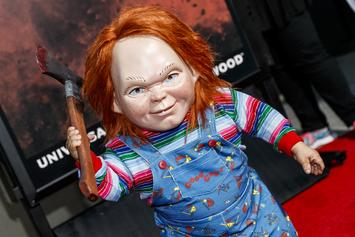 "Chucky Seemingly Decapitates Annabelle In Latest ""Child's Play"" Poster"