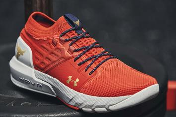 The Rock's Latest Under Armour Sneaker Is Finally Here: Detailed Look