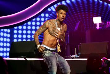 Blueface Handcuffed During Traffic Stop: Report