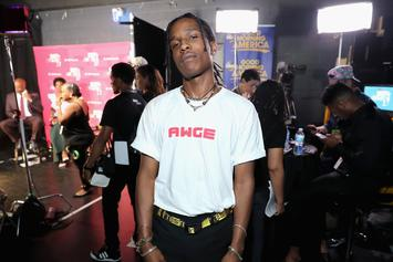 ASAP Rocky & Crew Delivered Beat Down After A Woman's Behind Was Grabbed