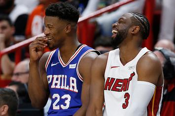 Jimmy Butler Feeling At Home In Miami, Plays Dominos With Locals: Video