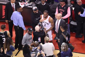 Kawhi Leonard Offered Role With Drake's OVO Label Says Chris Broussard