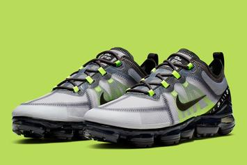 """Nike Vapormax 2019 Channels The Air Max 95 With """"Neon"""" Colorway"""