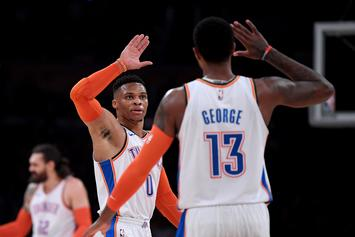 "Toronto Raptors ""Were In Talks"" To Acquire Paul George & Russell Westbrook"