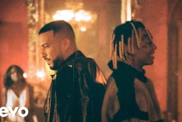 "French Montana & Tyla Yaweh Link Up In Luxurious ""Salute"" Video"