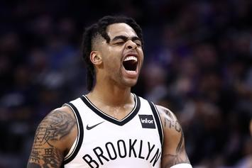 """D'Angelo Russell Reacts To Warriors Trade: """"Excited"""" To Get Started"""