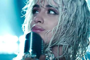 "Camila Cabello Debuts Blonde Locks In ""Find U Again"" Video"