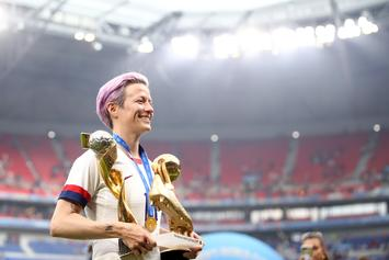 Megan Rapinoe Delivers Scathing Message To Donald Trump: Watch