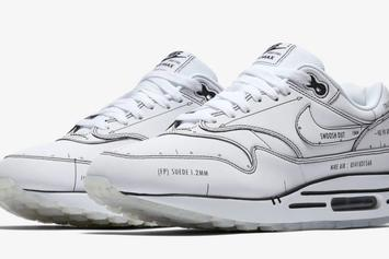 "Nike Air Max 1 ""Sketch To Shelf"" Pack Drops This Weekend: Details"