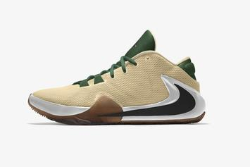 "Giannis' Nike Zoom Freak 1 Is Now Customizable With ""Nike By You"""
