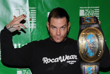 WWE's Jeff Hardy Arrested for Public Intoxication