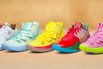 Nike Kyrie x SpongeBob Sneaker Collection: Full Release Details Revealed
