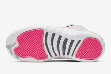 """Air Jordan 12 """"Racer Pink"""" Releasing This Month: Official Images"""