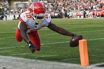 """Tyreek Hill Explains His Side Of Child Abuse Allegations: """"Teaching My Son To Box"""""""