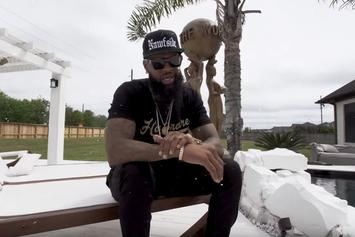 "Slim Thug Gives Fans A Tour Of His Mansion in ""KOTH"" Visual"