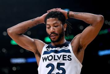 Derrick Rose Gets Inked With His Latest Neck Tattoo: Watch