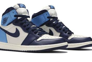 """Air Jordan 1 High OG """"UNC/Obsidian"""" Coming This Month: Detailed Look"""
