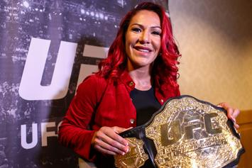"Dana White Releases Cris ""Cyborg"" Justino From Her UFC Contract"
